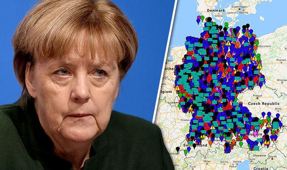 Αποτέλεσμα εικόνας για γερμανία χάρτης