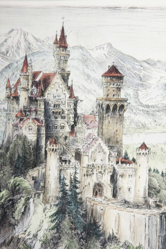 paul-geissler-etching-neuschwanstein-castle-4