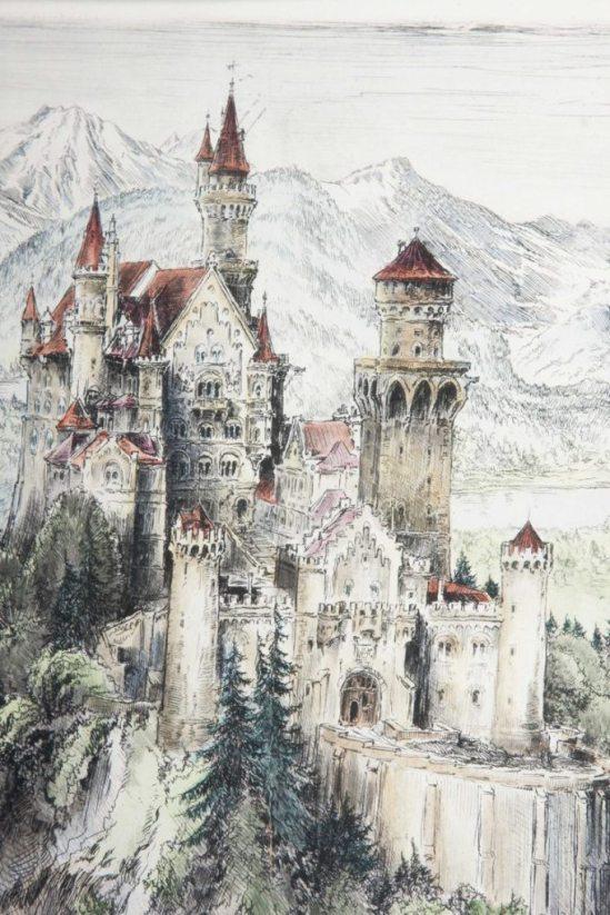 paul-geissler-etching-neuschwanstein-castle-4