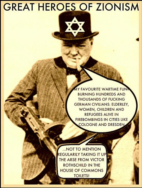 Ο Ουίνστον Τσόρτσιλ Αποκαλύπτεται Ως Εβραίος Και Επιπλέον Οι Στενές Σχέσεις Του Με Τον Οργανωμένο Εβραϊσμό ~ Zionist Winston Churchill Exposed As Jew And Moreover His Close Ties With Organized Jewry...! (Video + Photo)